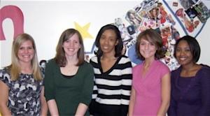 Kent State's Bateman Team: Rebecca Odell, Jennifer Yokely, Samantha Donnegan, Amanda Hayes, Shantae Rollins
