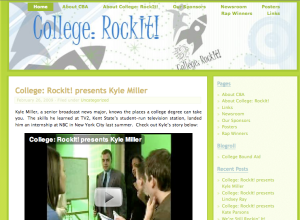 The College: RockIt website and blog.