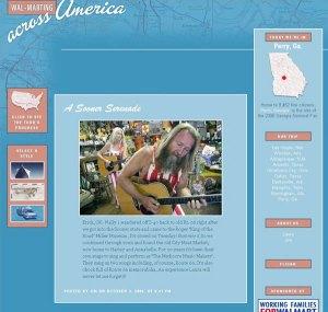 WalMarting Across America: Jim & Laura's Blog