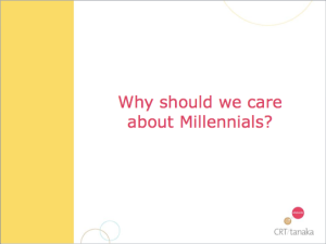 thesis statement about millennials
